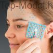 TOP Model Fantasy arcdíszítő smink