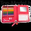 TOPModel Töltött tolltartó A/4 méret Friends Ciklámen