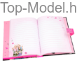 TopModel számkódos zenélő napló