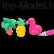 TOP Model Radírszett