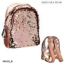 Top Model mini hátizsák arany flitterekkel