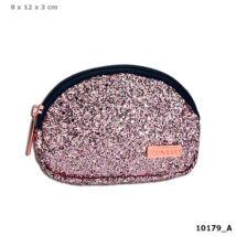 TOP Model Mini pénztárca rózsaszín glitteres