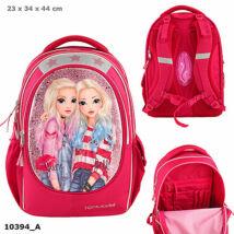 Iskolatáska ergonomikus háttal Friends pink