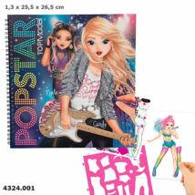 TOP Model Popstar ruhatervező könyv