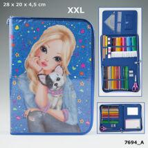 TOP Model Töltött tolltartó A/4 (XXL) Kék