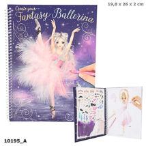 Top Model Fantasy Ballett ruhatrvező könyv