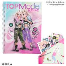 TopModel Dance ruhatervező 3D-s előlappal