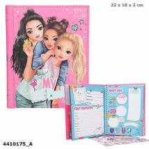 Top Model barátságkönyv