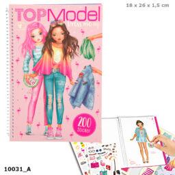 TOPModel Dress me up matricás ruhatervező