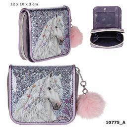 Miss Melody pénztárca lila