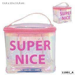 TOPModel kozmetikai táska HOLO Pink