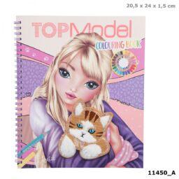 TOPModel Kifestőköny CAT