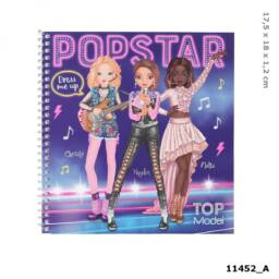 TOPModel Dress Me Up Matricás Tervező POPSTAR