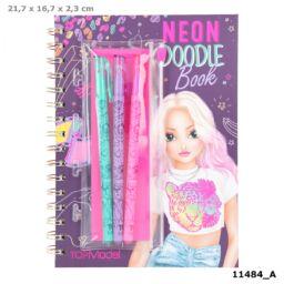 TOPModel Neon Doodle Könyv Zseléstollszettel