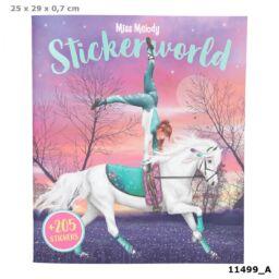 Miss Melody Stickerworld matricás tervező