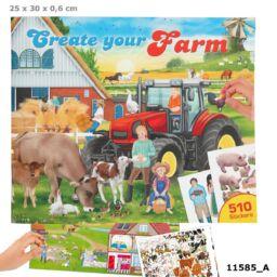 Farm Kreatív Matricázós Könyv