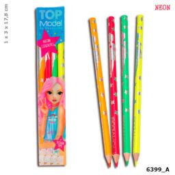TOPModel Neon színű ceruzakészlet