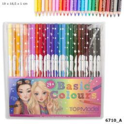 TOPModel 24 darabos színesceruza készlet