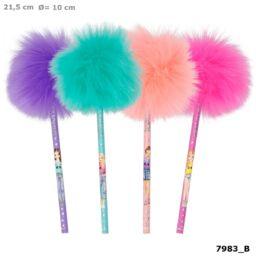 TOPModel Pomponos ceruza, rózsaszín
