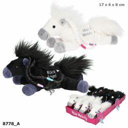 Miss Melody Kis Plüss Horses, fekete