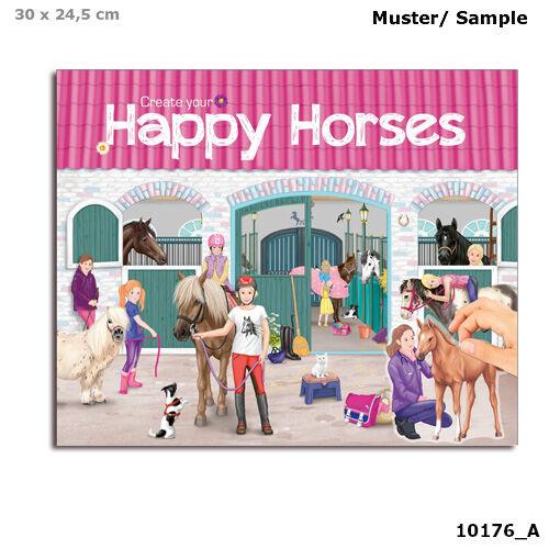 Horses Dreams Happy Horses matricás tervező