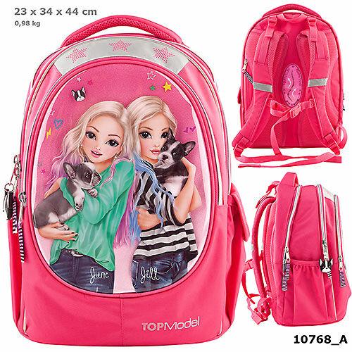 TOPModel ergonomikus iskolatáska Friends Pink