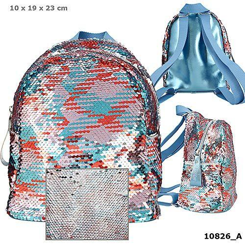 TOPModel flitteres színes hátizsák