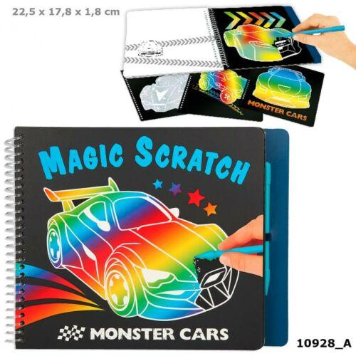 Monster Cars mágikus kaparós tervező