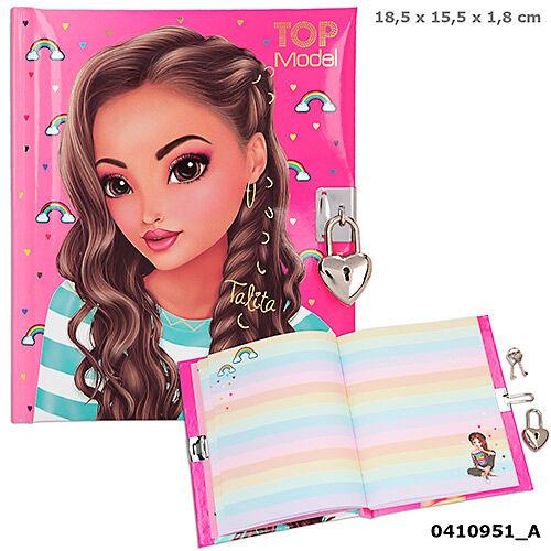 TOPModel napló pink