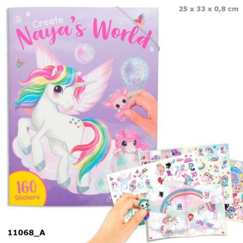 Ylvi & Minimoomis Naya's world kreatív matricás tervező