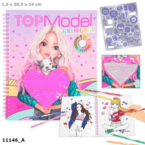 TOPModel Kifestő Könyv
