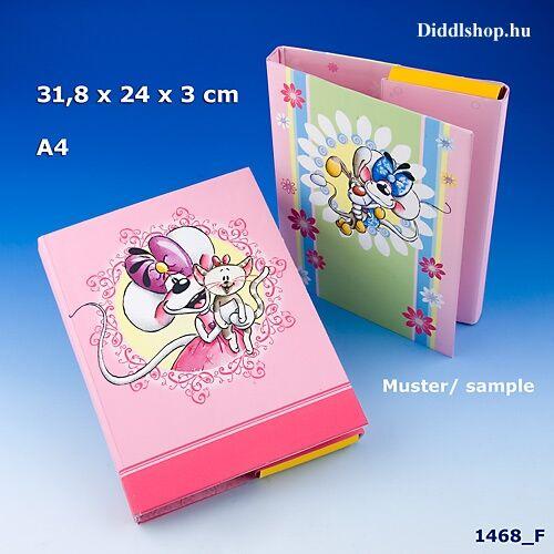 Diddl Füzet-box A4 - Iskolaprogram