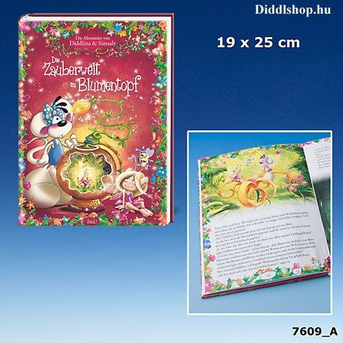 Simsaly könyv -Die Zauberwelt im Blumentopf-