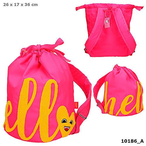 TOPModel hátizsák pink HELLO