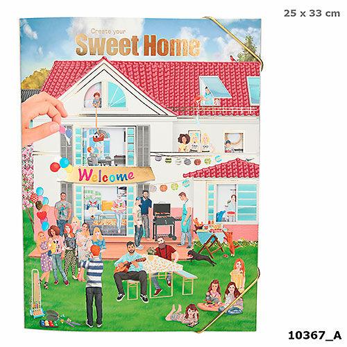 Sweet Home matricás lakástervező kifestő