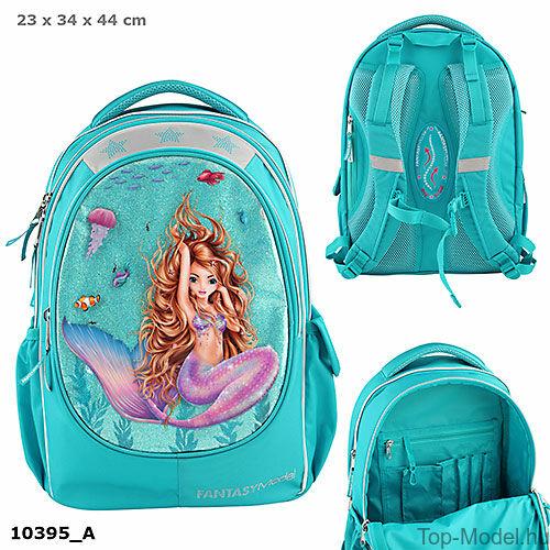 Kép 1/5 - Fantasy Model Ergonomikus iskolatáska Mermaid