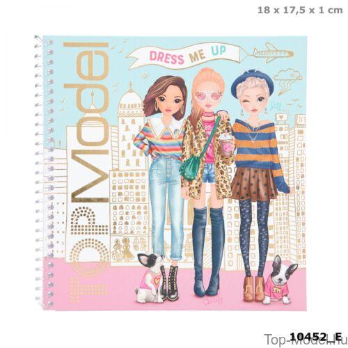 Kép 1/6 - TOPModel Dress Me Up Matricás Ruhatervező