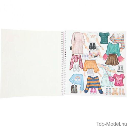 Kép 6/6 - TOPModel Dress Me Up Matricás Ruhatervező