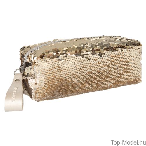 Kép 3/3 - TOPModel flitteres hengertolltartó arany