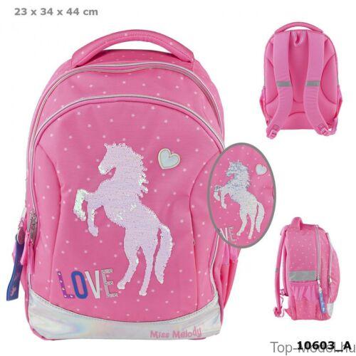 Kép 1/4 - Miss Melody iskolai hátizsák PINK