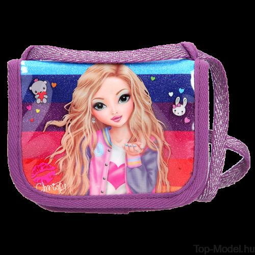 TOPModel Nyakba akasztható pénztárca Friends Purple