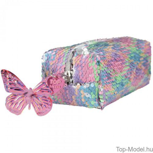 Kép 5/5 - Fantasy Model Hengertolltartó flitteres szivárvány Balett