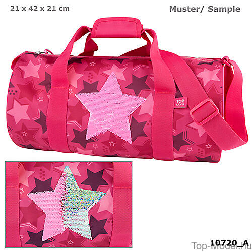 Kép 1/4 - TOPModel Sporttsáka Pink Star