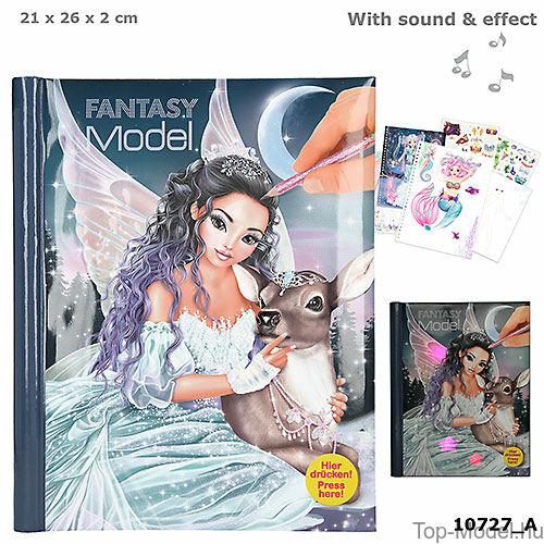 Kép 1/3 - Fantasy Model zenélő, világító ruhatervező