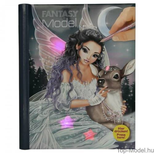 Kép 3/3 - Fantasy Model zenélő, világító ruhatervező