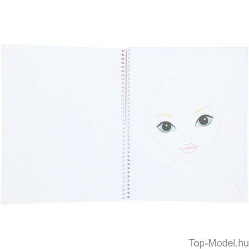 Kép 5/6 - TOPModel smink és hajtervező könyv