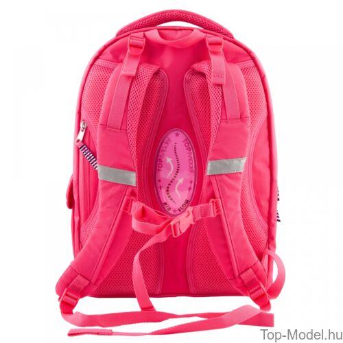Kép 4/4 - TOPModel ergonomikus iskolatáska Friends Pink