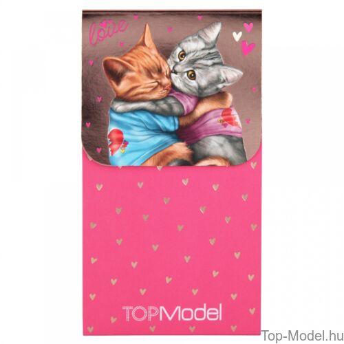 Kép 4/6 - TOPModel mágneses notesz, rózsaszín szőkelány