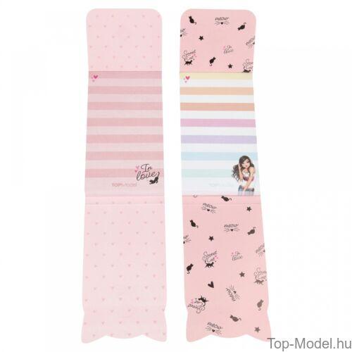 Kép 5/6 - TOPModel mágneses notesz, rózsaszín szőkelány