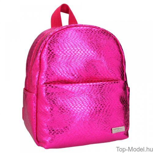 Kép 2/3 - TOPModel mini hátizsák kígyóbőr mintás pink